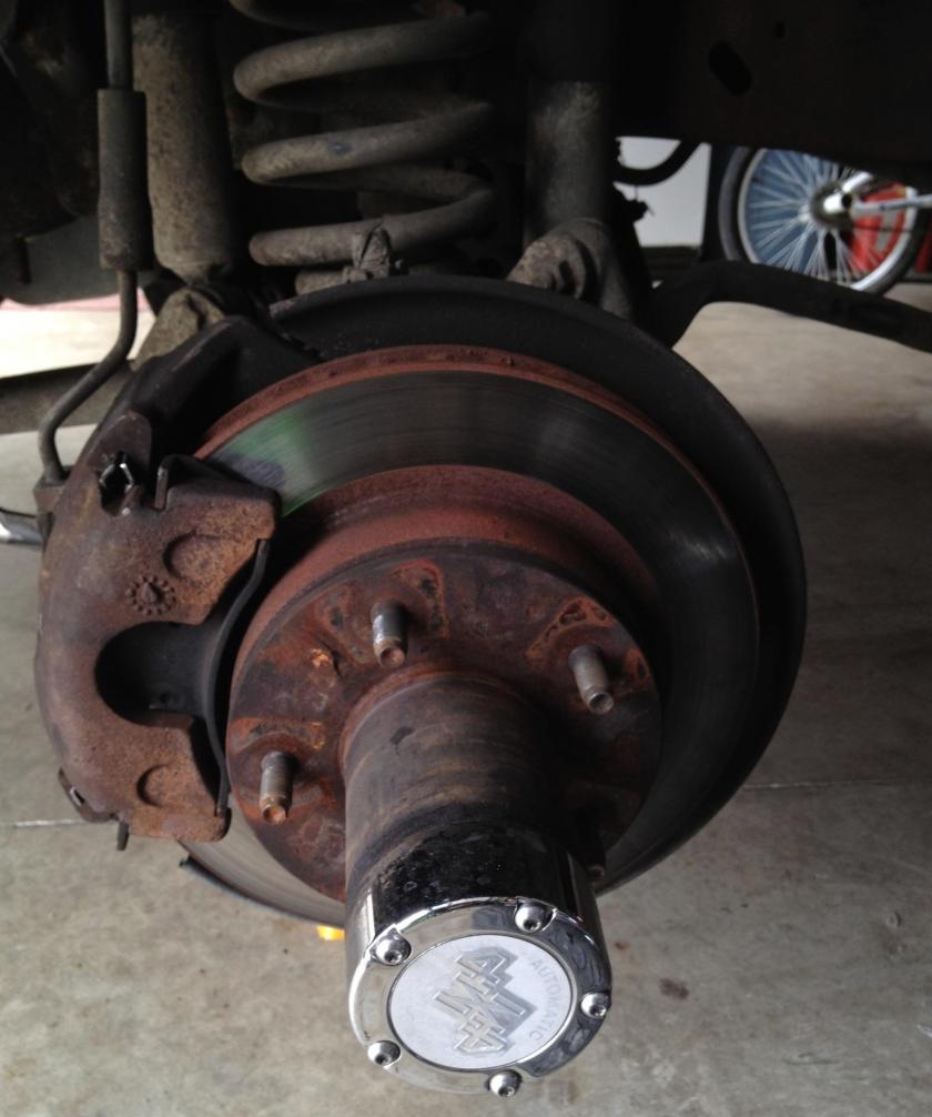 Brake disk repair