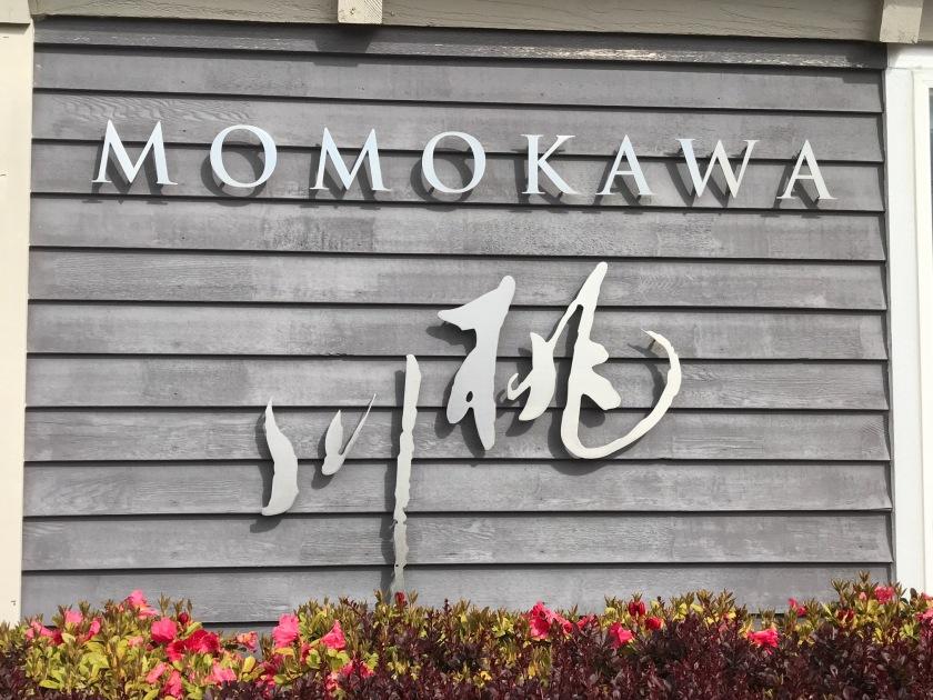Momokawa sign