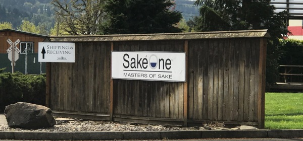 Sakeone Masters of Sake sign