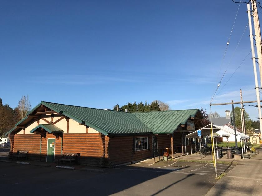 Trask Mountain Outpost exterior