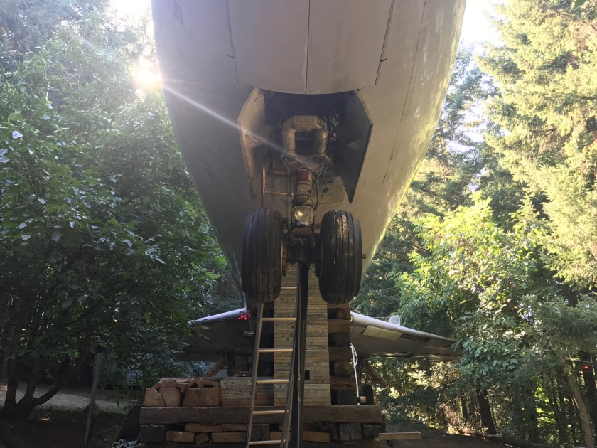 Front landing gear