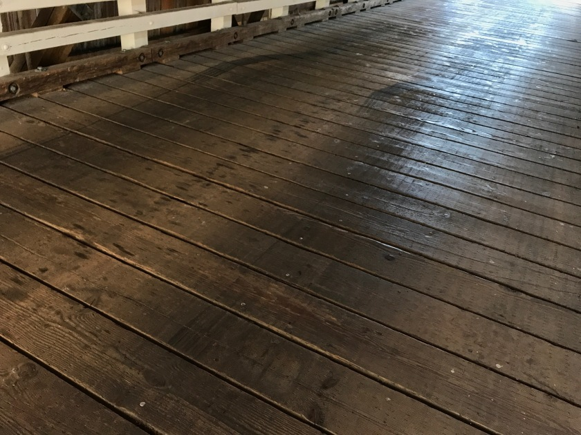 Gallon House Bridge decking