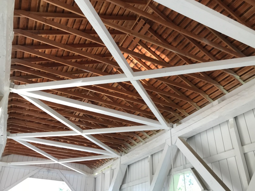 Hoffman Bridge interior roof