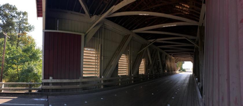 Just inside Shimanek Bridge