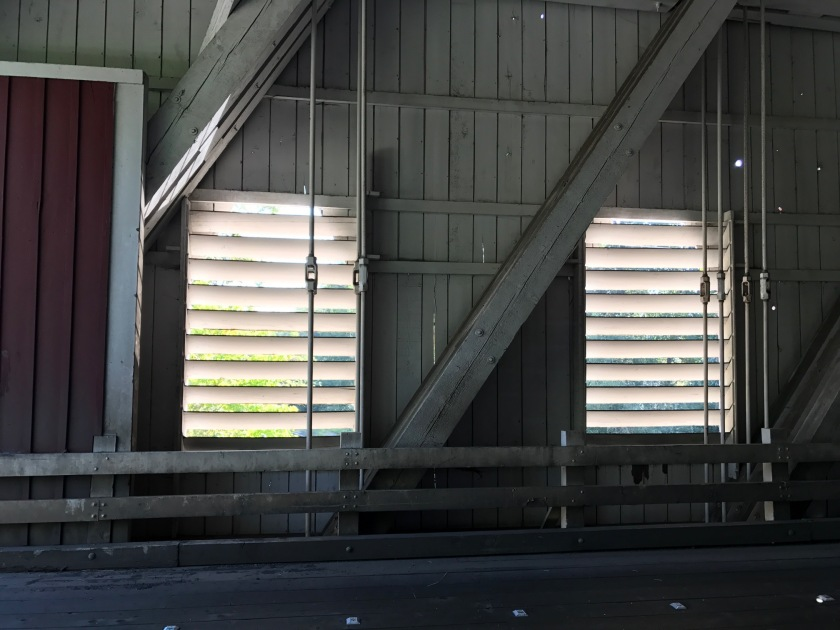 Shimanek Bridge - looking at the windows.