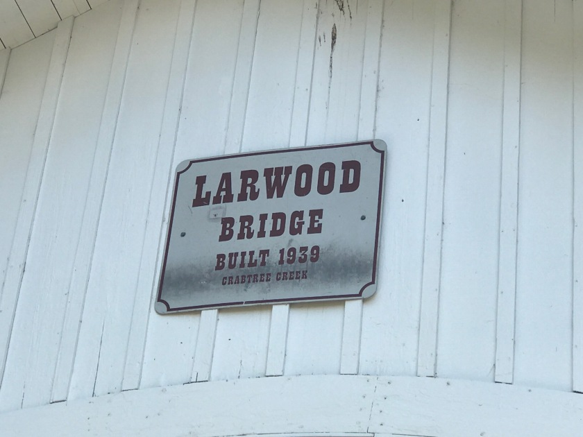 Larwood Bridge building date