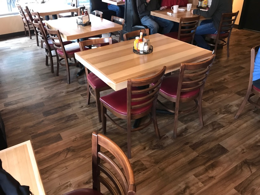 Tables and Booths at Diversity Cafe