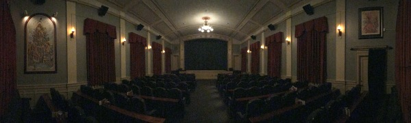 The theater at the Grand Lodge - called the Compass Theater is just fantastic