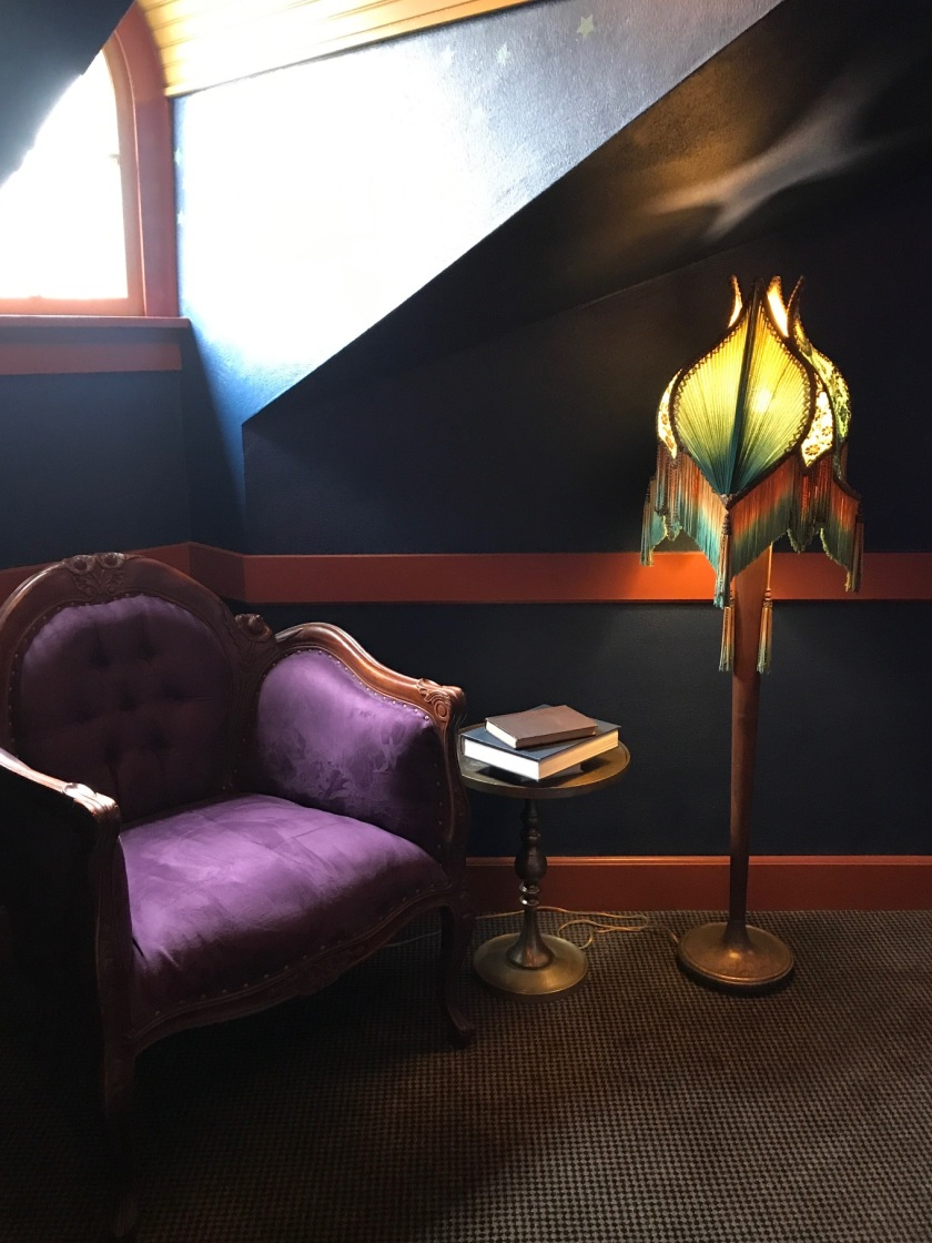Another reading nook on the third floor at the Grand Lodge