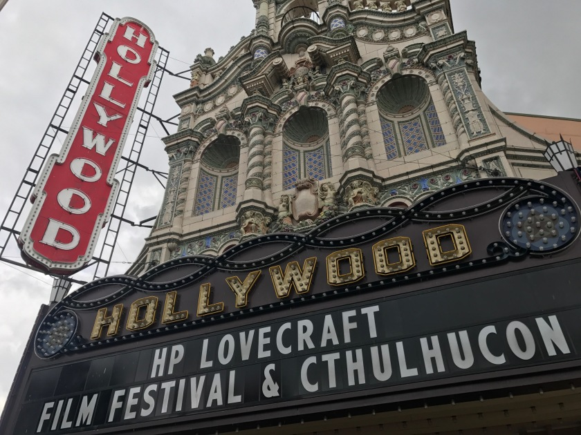 Hollywood Theater and HP Lovecraft CthulhuCon