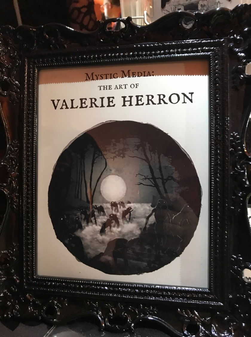 Valerie Herron's artwork at the HPLFF