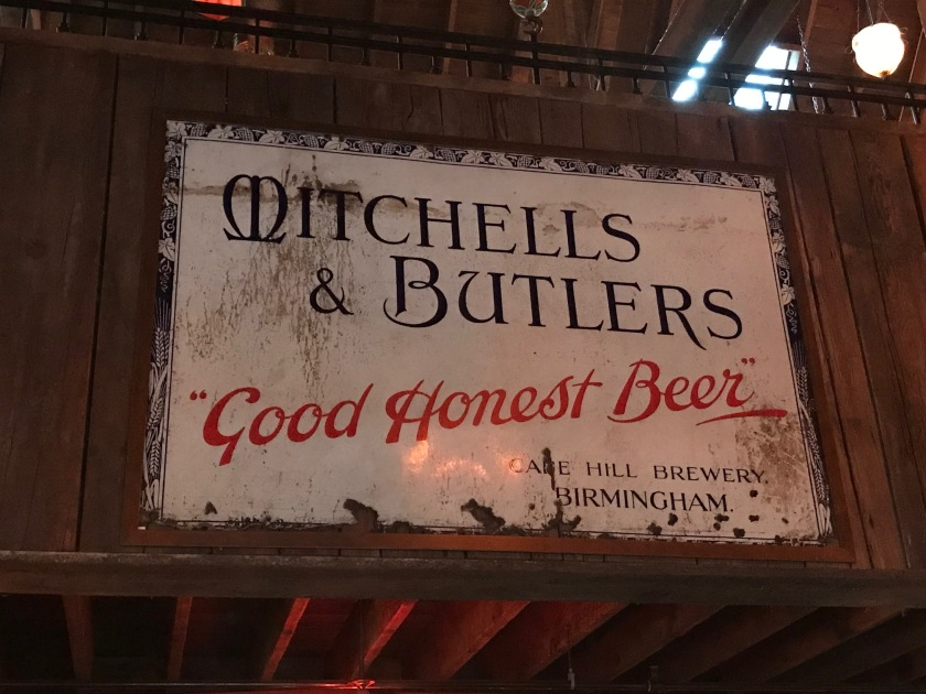 Advertisement for Mitchells and Butler's Good Honest Beer