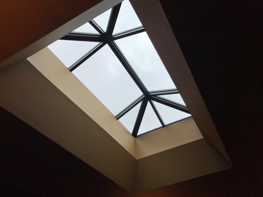 Gem has a fantastic large skylight that lets in a wonderful amount of rich light