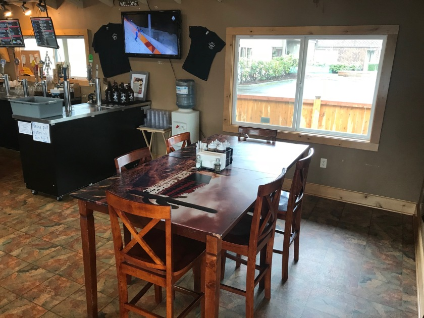 The tables and chairs at Bert's are high-quality and very comfortable - which is good considering that it is a popular place and at times can be very busy